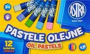 Маслени пастели - Комплект от 12, 24 или 36 цвята