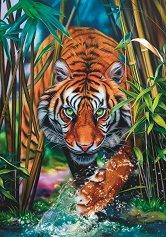 Хищен тигър - пъзел