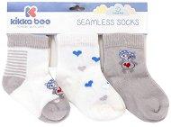 Бебешки чорапи - Love Rome - Комплект от 3 чифта -