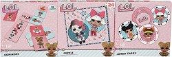 L.O.L Surprise! - 3 в 1 - Комплект карти, домино и пъзел -