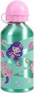 Детска алуминиева бутилка - Русалки 500 ml - несесер