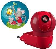 Нощна LED лампа с проектор - Мишле - Детски аксесоар -