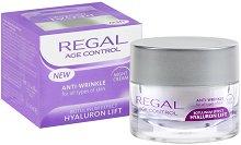 """Regal Age Control Anti-Wrinkle Night Cream - Нощен крем за лице против бръчки от серията """"Age Control"""" - серум"""
