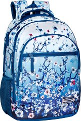 Ученическа раница - Eastwick: Floral Blue -