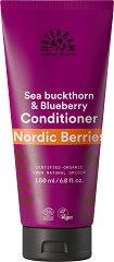 """Urtekram Nordic Berries Repairing Conditioner - Възстановяващ био балсам за коса от серията """"Nordic Berries"""" - очна линия"""