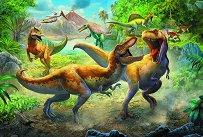 Борба между тиранозаври -