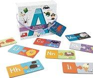 Английска азбука - Образователен пъзел -