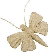 Фигура от папиемаше - Пеперуда - Предмет за декориране с размери 14 / 9 / 2 cm