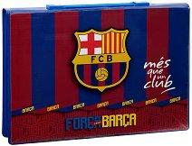 Комплект за рисуване - ФК Барселона - В пластмасово куфарче - продукт
