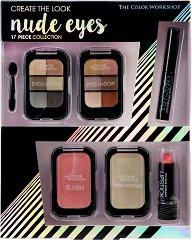 Markwins International The Color Workshop Nude Eyes - Комплект с гримове за ежедневна визия -