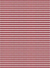 Декупажна хартия - Ромбове - Размери 30 x 40 cm