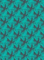 Декупажна хартия - Екзотични растения - Размери 30 x 40 cm