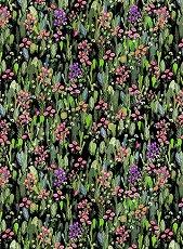 Декупажна хартия - Флорални мотиви - Размери 30 x 40 cm