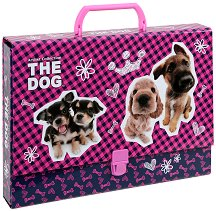 Папка тип куфарче - Кученца - Размери 33 x 24 cm