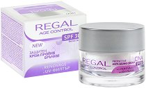 """Regal Age Control Protective Anti-Aging Cream DNA - SPF 30 - Защитен крем за лице против бръчки от серията """"Age Control"""" - серум"""