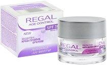 """Regal Age Control Protective Anti-Aging Cream DNA - SPF 30 - Защитен крем за лице против бръчки от серията """"Age Control"""" - олио"""