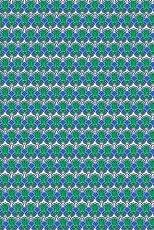 Декупажна хартия - Кобалтово зелено и синьо - Размери 30 x 40 cm