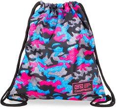 Спортна торба - Sprint Line: Camo Fusion Pink - детски аксесоар
