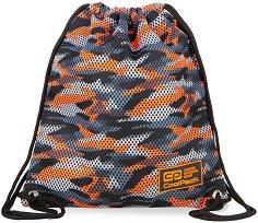 Спортна торба - Sprint Line: Camo Mesh Orange - раница