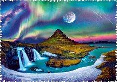 """Северно сияние, Исландия - От серията """"Crazy Shapes"""" -"""