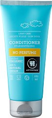 "Urtekram No Perfume Noramal Hair Conditioner - Био балсам без аромати за нормална коса от серията  ""No Perfume"" - спирала"