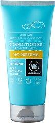 "Urtekram No Perfume Normal Hair Conditioner - Био балсам без аромати за нормална коса от серията  ""No Perfume"" - душ гел"