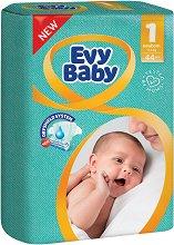 Evy Baby 1 - New Born - Пелени за еднократна употреба за бебета с тегло от 2 до 5 kg -
