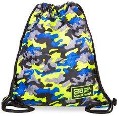 Спортна торба - Sprint Line: Camo Fusion Yellow -