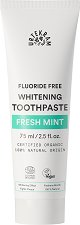 Urtekram Fresh Mint Whitening Toothpaste - Избелваща био паста за зъби с освежаваща мента - паста за зъби