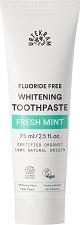 Urtekram Fresh Mint Whitening Toothpaste - Избелваща био паста за зъби с освежаваща мента - шампоан