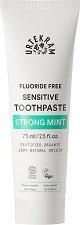 Urtekram Strong Mint Sensitive Toothpaste - Био паста с мента за чувствителни зъби - шампоан