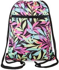 Спортна торба - Vert: Pastel Leaves -