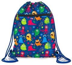 Спортна торба - Vert: Funny Monsters -