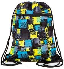 Спортна торба - Vert: Squares - детски аксесоар