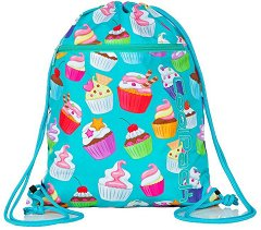 Спортна торба - Vert: Cupcakes -
