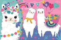 Щастливи лами - пъзел