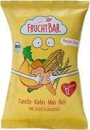 FruchtBar - Био снакс с морков и тиква - Опаковка от 30 g за бебета над 12 месеца -
