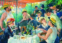 Закуската на гребците - Пиер-Огюст Реноар (Pierre-Auguste Renoir) -