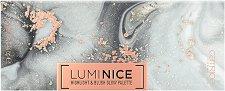 Catrice Luminice Highlight & Blush Glow Palette - Палитра с хайлайтъри и руж за лице - четка