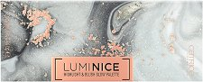 Catrice Luminice Highlight & Blush Glow Palette - Палитра с хайлайтъри и руж за лице - несесер