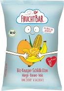 FruchtBar - Био снакс с манго и банан - Опаковка от 30 g за бебета над 12 месеца -