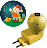Нощна LED лампа с проектор - Джудже - Детски аксесоар -