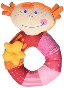 Текстилна дрънкалка - Малката Роси -