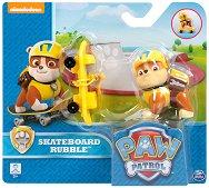 """Ръбъл със скейтборд - Комплект за игра от серията """"Пес патрул"""" -"""