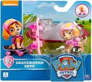 """Скай със скейтборд - Комплект за игра от серията """"Пес патрул"""" -"""