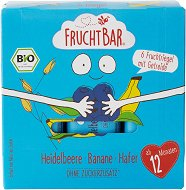 FruchtBar - Био мюсли десерти с боровинка и банан - продукт