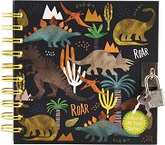Таен дневник с фосфоресциращи корици - Динозаври -