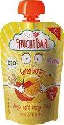 """Fruchtbar - Био пюре """"Добро утро"""" с манго, ябълка, портокал и спелта - пюре"""