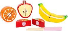 Плодове за рязане - Комплект дървени фигури -
