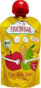Fruchtbar - Био пюре с круши, ябълки, киви и спелта - Опаковка от 100 g за бебета над 6 месеца -
